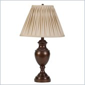 Coaster Classic Table Lamp in Brown