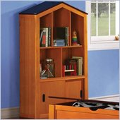Coaster Jacob Barn Style Kids Bookcase in Oak