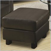 Coaster Sawyer Contemporary Rectangular Ottoman in Charcoal