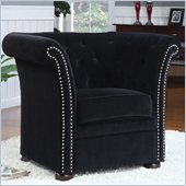 Coaster Club Chair in Black