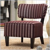 Coaster Accent Chair in Burgundy