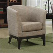 Coaster Club Accent Chair in Beige