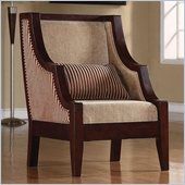 Coaster Accent Chair in Beige
