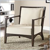 Coaster Accent Chair in Cream and Cappuccino