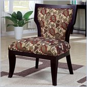 Coaster Accent Chair in Oblong Pattern Brown Cappuccino