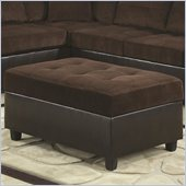 Coaster Henri Storage Ottoman in Brown