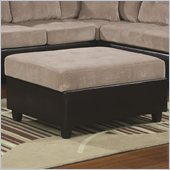 Coaster Henri Storage Ottoman in Beige