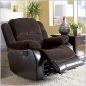 Coaster Johanna Corduroy Recliner in Chocolate
