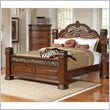 ADD TO YOUR SET: Coaster DuBarry Bed in Rich Brown Finish
