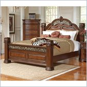 Coaster DuBarry Bed in Rich Brown Finish
