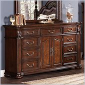 Coaster DuBarry Dresser in Rich Brown Finish