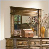 Coaster Edgewood Mirror in Brown Oak Finish