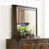 Coaster Foxhill Mirror in Deep Brown Finish