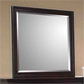 Coaster Sandy Beach Mirror in Cappuccino Finish