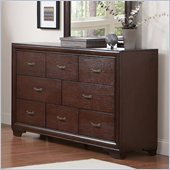 Coaster Simone 8 Drawer Dresser in Cappuccino Finish