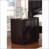 Coaster Lloyd 2 Drawer Nightstand in Dark Cappuccino Finish