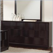 Coaster Lloyd 6 Drawer Dresser in Dark Cappuccino Finish