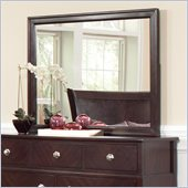 Coaster Albright Mirror in Cherry Finish