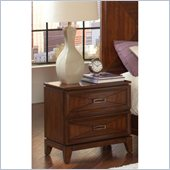 Coaster Katharine 2 Drawer Nightstand in Oak Finish