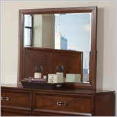 Coaster Katharine Rectangular Mirror in Oak Finish