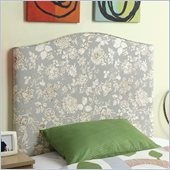 Coaster Leon Twin Upholstered Headboard with Floral Pattern