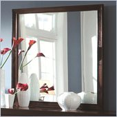 Coaster Calvin Framed Mirror in Cappuccino Finish
