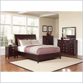 Coaster Albright Bed in Cherry Finish