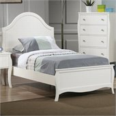 Coaster Dominique Youth Bed in White Finish