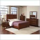 Coaster Katharine 4 Piece Bedroom Set in Oak Finish