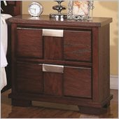 Coaster Hyland Two Drawer Nightstand