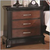 Coaster Josephina Three Drawer Nightstand