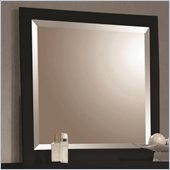 Coaster Holland Square Mirror in Black
