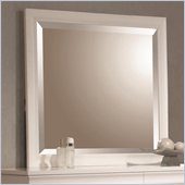 Coaster Holland Square Mirror in White