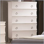 Coaster Holland Five Drawer Chest in White