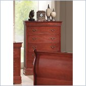 Coaster Louis Philippe Chest in Cherry
