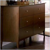 Coaster Tamara 6 Drawer Dresser in Dark Walnut  Finish 
