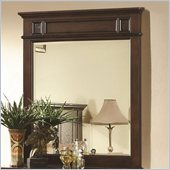 Coaster Sidney Mirror in Dark Cherry Finish