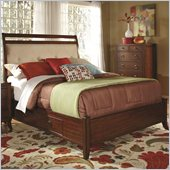 Coaster Ortiz Casual Storage Bed in Rich Cherry