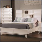 Coaster Holland Bookcase Bed in White