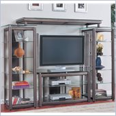 Coaster Wall Unit Metal Entertainment Center