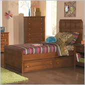 Coaster Aiden Bed in Warm Brown