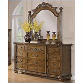 Coaster Bartole Dresser and Mirror Set