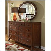 Coaster Ortiz Dresser and Mirror Set