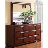 Coaster Hyland Dresser and Mirror Set
