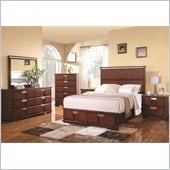 Coaster Hyland 6 Piece Bedroom Set