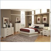 Coaster Jessica 3 Piece Bedroom Set