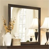 Coaster Tatiana Square Dresser Mirror in Espresso