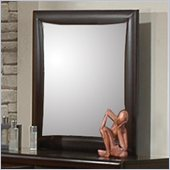Coaster Phoenix Mirror in Cappuccino Finish