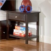 Coaster Jasper Nightstand in Rich Cappoccino Finish