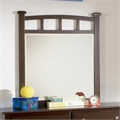 Coaster Jasper Mirror in Rich Cappuccino Finish